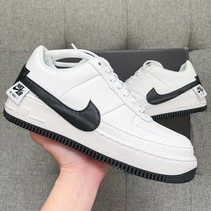🤍🖤 Nike Air Force 1 jester white black shoes